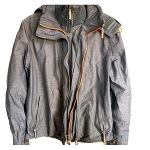 Superdry Windcheater gray medium
